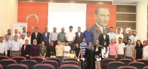 'Yolumuzu Aydınlatan Kandiller' projesi ödül töreni