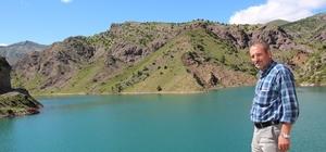 Erzurum Oltu Sivridere Sulama Barajında sona gelindi Çalışmaların tamamlanması ile 6 bin 860 dekar tarım arazisi suya kavuşacak