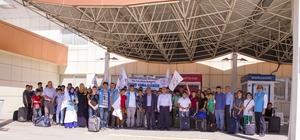 Vanlı öğrenciler İstanbul'a uğurlandı