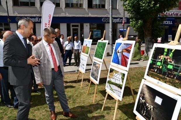 Karabük'te '10. Tarım ve İnsan Fotoğraf Sergisi' açıldı