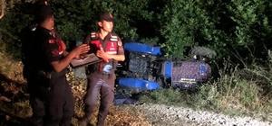 Menteşe'de traktör kazası: 1 ölü