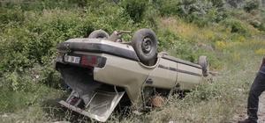 Kastamonu'da otomobil takla attı: 5 yaralı