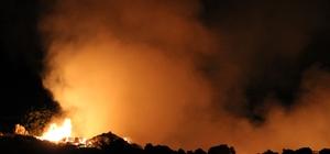 Köşk'te insan eliyle çevre felaketi Köşk'te çöplük yangınları sorun olmaya başladı
