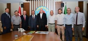 Ziraat Odası Başkanlarından Ankara ziyareti Muğla Ziraat Odası Başkanları Ankara'da genel başkan Şemsi Bayraktar'ı tekrar genel başkanlığa seçilmesi nedeniyle hayırlı olsun ziyaretinde bulundu.