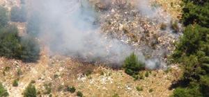 Helikopter ile trafik denetimine gittiler, orman yangını ile karşılaştılar Emniyet Genel Müdürlüğü'nün Muğla'ya 4 aylığına tahsis ettiği helikopter ile trafik denetimine çıkan ekipler, orman yangını ile karşılaştılar