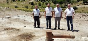 """Afyonkarahisar'da yeni jeotermal sahası bulundu Firma Sahibi Bülent Kaçmaz: """"Tüm yatırımcıları Afyonkarahisar'a bekliyoruz"""""""