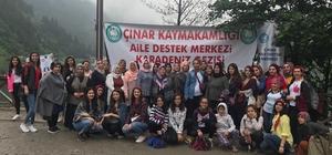 ADEM'li kadınlar Karadeniz turunda