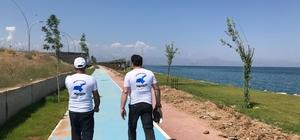 Gönüllüler, Van Gölü için 430 kilometre yürüyecek