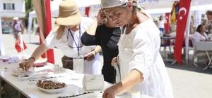 Efeler'in organik lezzetleri Şen Şeftali Festivalinde