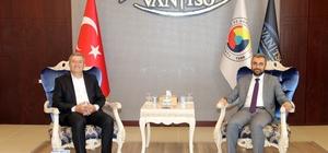 Başkan Say'dan kamu kurumlarına iadeyi ziyaret