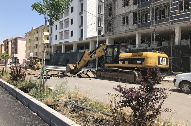 Kars'ta şehiriçi yolları karayolları yapıyor