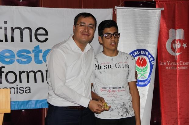 LGS'de başarılı olan imam hatipliler ödüllendirildi Manisa ve ilçelerinde LGS'de üstün başarı elde eden 20 imam hatip ortaokulu öğrencisi altınla ödüllendirildi
