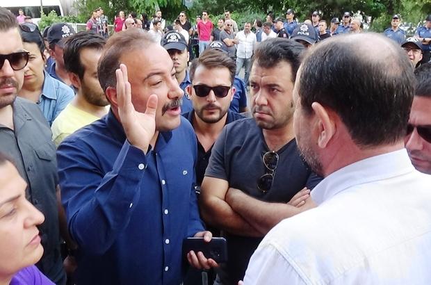 """Polis müdüründen HDP'li başkana tokat gibi cevap: """"Ülkemizde savaş yok, terörle mücadele var"""""""