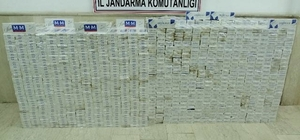 Van'da 19 bin 719 paket kaçak sigara ele geçirildi