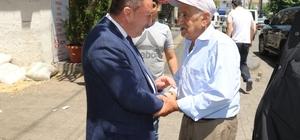 Başkan Beyoğlu'nun esnaf ziyareti sürüyor