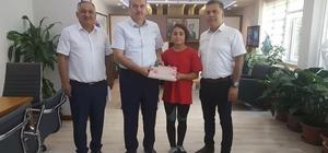 İl Milli Eğitim Müdürü Okumuş'tan Türkiye 3'üncüsüne hediye