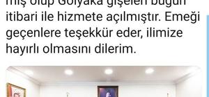 """Vali Dağlı sosyal medya hesabından açıkladı Vali Dağlı """"Gölyaka gişeleri açıldı"""""""