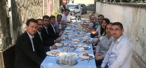 Tosya'da infaz koruma memurlarına veda yemeği