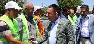 """Başkan Beyoğlu: """"Hedefimiz 37 köyün tamamına hizmet götürmek"""""""