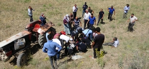 Van'da traktör kazası: 1 ölü, 1 yaralı Adres yanlış verilince ekipler olay yerini 1,5 saat sonra buldu