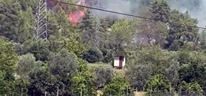 Dalaman'daki yangının ilk çıkış anının fotoğrafları ortaya çıktı