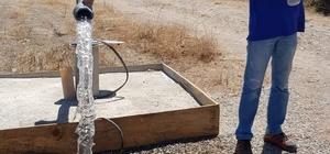 Büyükşehirden Didim'e iki yeni içme suyu kuyusu