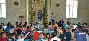 Kaymakam Atak, Kur'an kursu öğrencilerine 15 Temmuz anlattı