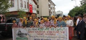 24. Cide Rıfat Ilgaz Sarı Yazma Kültür ve Sanat Festivali başladı