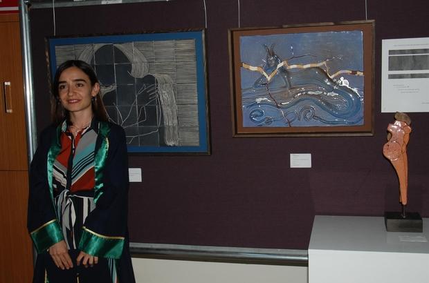 Seramik sanatında mitolojik tasvirler sergilendi Ç.Ü. Güzel Sanatlar Fakültesi Seramik Bölümü öğrencileri, mezuniyet günlerinde eserlerini sergilediler.