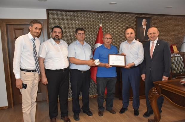 Kızılay'dan Samsun Milli Eğitim Müdürlüğüne kan bağışı teşekkürü