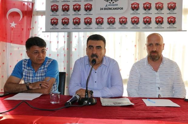 Üzeyir Çalı, Erzincanspor Kulüp Başkanı seçildi