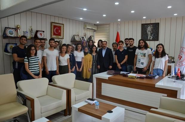 Sosyal çalışma programı katılımcıları göreve başladı