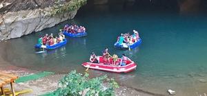 Son bir yılda 66 bin kişi ziyaret etti Türkiye'nin en büyük Avrupa'nın üçüncü büyük yer altı mağarası  Altınbeşik'i son bir yılda 66 bin kişi ziyaret etti