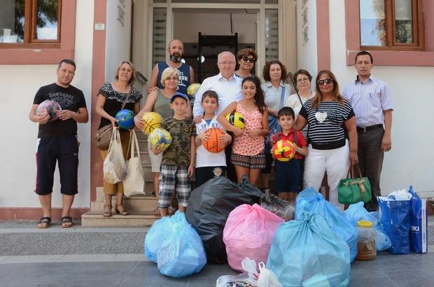 Menteşe Belediyesinden atık getirene, hediye Menteşe Belediyesi tarafından küçük yaştaki bireylerin geri dönüşüm alışkanlığı kazanması için başlattığı 'Atık getirene hediye' yarışması başladı.