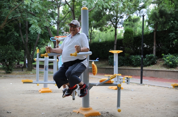 Aydınlılar sabah sporunda buluşuyor Vatandaşlar Büyükşehir Belediyesinin spor eğitmenleriyle sabah sporu yapıyor