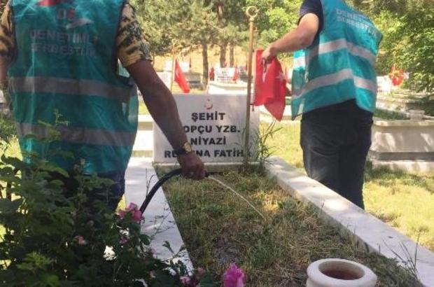 Erzurum Denetimli Serbestlik Müdürlüğü'nden şehitlerimize ve Erzurum tarihine vefa