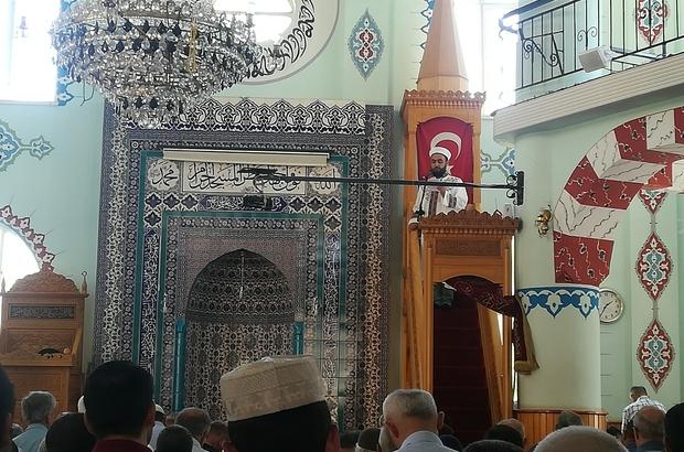 Aydın'da diyanet hutbede 15 Temmuz'u anlattı