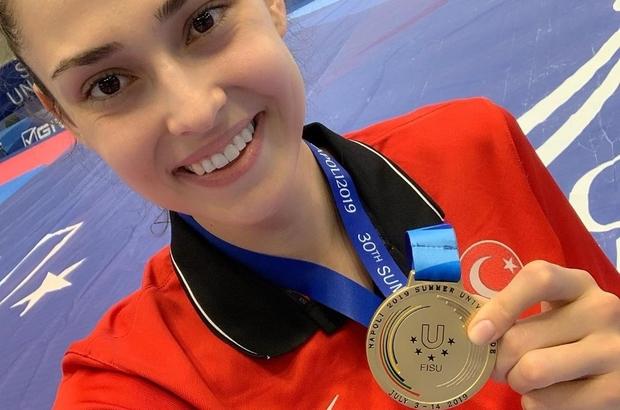 Açıköğretim öğrencisi gururlandırdı İrem Yaman 62 kilo tekvando finalinde 2'nci kez altın madalya kazandı