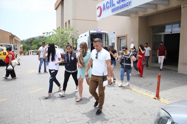 Antalya'da kataloglu fuhuş çetesi operasyonu Katalog üzerinden kadın pazarladığı ileri sürülen 8 şüpheli yakalandı Rusya Federasyonu ve Moldova uyruklu 21 kadın kurtarıldı