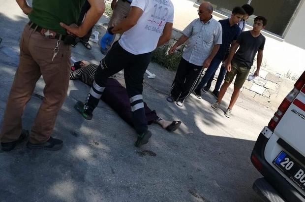 Ölüm sokakta yürürken yakaladı Yolda yürürken yere düşüp öldü