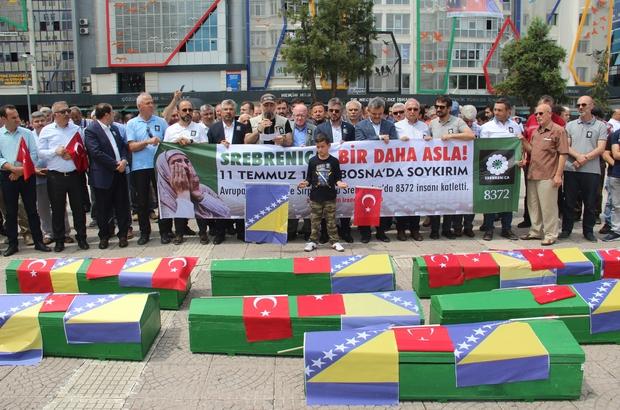 Srebrenitsa soykırımına tepki yürüyüşü