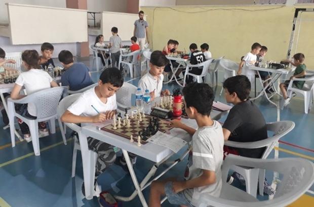 """Bozüyük'te """"15 Temmuz Şehitlerini Anma Satranç Turnuvası'' düzenlendi"""