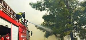 Başkan Gürün'den yangınlarla mücadele eden ekiplere teşekkür