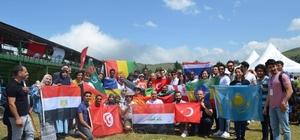 Ordu'da kanolar yarıştı Kano yarışmasına 25 ülke katıldı