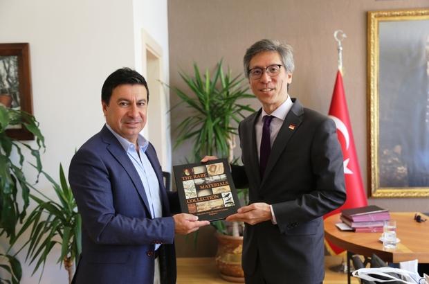 Singapur Büyükelçisinden Başkan Aras'a ziyaret
