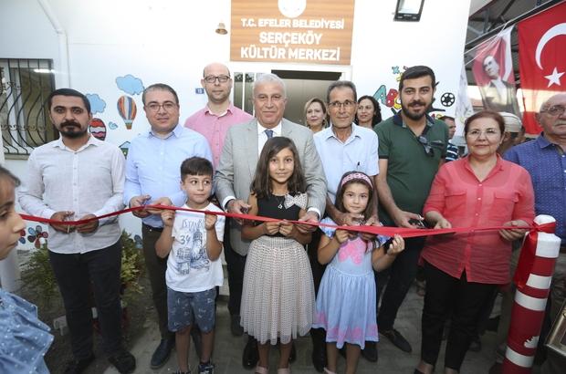 Serçeköy kültür merkezine kavuştu