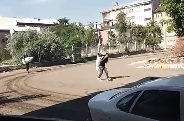 Hırsızlar çuvallarla eski hastaneyi yağmaladı