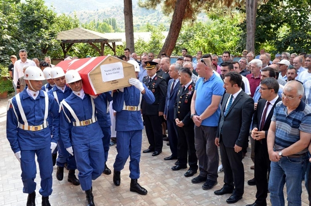 Kıbrıs Gazisi Diyar, son yolculuğuna uğurlandı