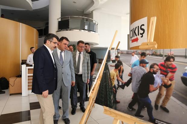 İHA'nın 15 Temmuz sergisi Yıldırım Belediyesi'nde açıldı