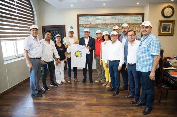 """Mersin'de limonata festivali düzenlenecek Büyükşehir Belediye Başkanı Vahap Seçer """"Mersin'in festival kenti haline gelmesini istiyoruz"""""""